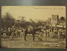cpa maroc campagne settat le lavoir militaires