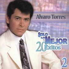 Solo Lo Mejor Vol 2 by Alvaro Torres (CD 2 Discs Brand New Ships Fast , LAST ONE