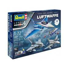 "Revell 1:72 Scale Gift-Set ""60 Years of Luftwaffe"" Model Aircraft Kit - 05797"