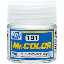 GSI CREOS GUNZE MR HOBBY Color C181 Super Clear LACQUER PAINT 10ml MODEL KIT NEW