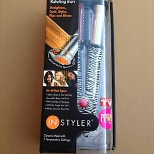 "INSTYLER The Amazing Rotating Hot Iron - 1 1/4"" Barrel - FREE SHIPPING"