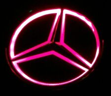 RED UNIVERSAL Replica LED Illuminated Star Emblem For Mercedes Benz A B C E M R