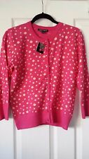 Ladies Cardigan by Cable & Gauge  Size M BNWT Colour - Fresh Melon