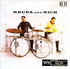 Krupa & Rich  by Gene Krupa and Buddy Rich (CD)