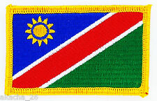 PATCH ECUSSON BRODE DRAPEAU NAMIBIE  INSIGNE THERMOCOLLANT NEUF FLAG PATCHE