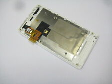 Full LCD Display+Touch Screen+Frame For Sony XPERIA Miro ST23i (White color)