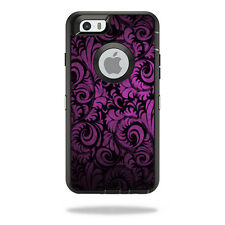 Skin Decal Wrap for OtterBox Defender iPhone 6/6S Case Purple Style