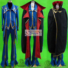 Code Geass: Lelouch of the Rebellion ZERO 2G Clothing Cos Cloth Cosplay Costume