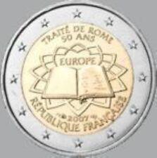 Frankrijk  2007  2 euro commemo   Verdrag van Rome    UNC uit de rol !!