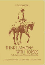 Think Harmony with Horses by Ray Hunt - 2 CD Audio Book - NEW