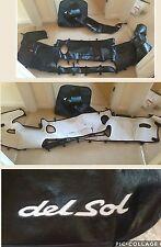 Honda Civic Crx Del Sol Eg2 Rare OEM hood bra and mask