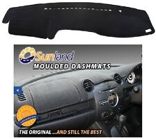 Dashmat Moulded Charcoal for Toyota Prado 120R Series-Passenger Airbag Dash Mat