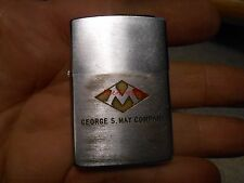 Vintage Zippo Lighter George S May Company