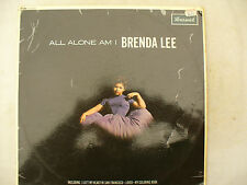 BRENDA LEE LP ALL ALONE AM I Brunswick uk sta 8530 very rare stereo see inside