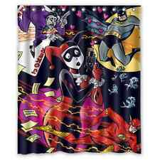 Special Offer Custom Harley Quinn With Batman Waterproof Shower Curtain 60x72