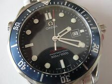 Omega Seamaster 2221.80 Full size Blue Wave Face, Both Boxes Cards & Manual LNIB