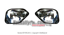 WSB STYLE HEADLIGHT STICKERS - YAMAHA YZF R1M / R1 2015  RACE TRACK GRAPHICS
