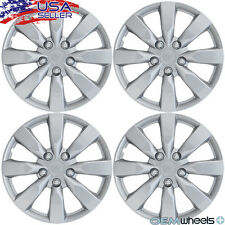 "SET OF 4 NEW SILVER 16"" HUB CAPS FITS BUICK CAR SUV CROSSOVER CENTER WHEEL COVER"