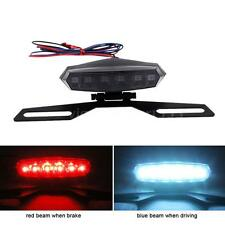 LED Tail Brake Stop Driving License Plate Light For Motorcycle Scooter VS1 9MQ4
