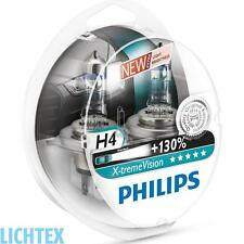 H4 PHILIPS X-tremeVision - Take performance Scheinwerfer Lampe DUO-Pack-Box NEU