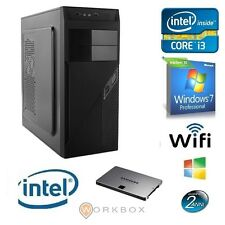 PC DESKTOP COMPLETO I3 8G WIN7 PC DESKTOP I3-4160 8GB RAM 1TB VGA WIFI 3,60GHZ