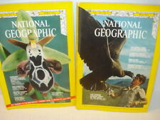 Set of 2 Magazine National Geographic - April & May 1971 Mexican Border, Hungary