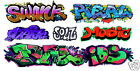 HO Scale Custom Graffiti Decals #41 - Weather Your Box Cars, Hoppers, & Gondolas
