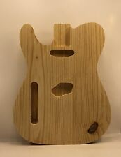 Left Handed Unfinished Pine Telecaster Style Electric Guitar Body #303, USA