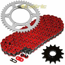 Red O-Ring Drive Chain & Sprockets Fits KAWASAKI EX250J Ninja 250R 2008-2012