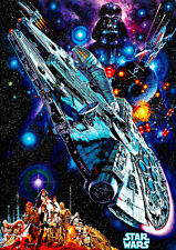 Star Wars 1977 III Movie Poster A1 High Quality Canvas Art Print