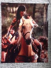 Official Xena 8x10 Photo Xena & Argo Lucy Lawless XE-LL107