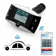 "1.5"" LCD Auto KFZ Bluetooth MP3 Player SD MMC USB Funk FM Transmitter Modulator"