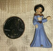 Vintage Jasmine Figure for 1993 Disney Aladdin & Jasmine Locket-Polly Pocket