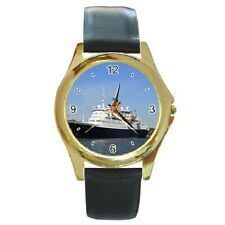 SAGA RUBY SHIP WATCH ROUND WRISTWATCH **GREAT GIFT ITEM**