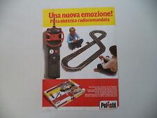 advertising Pubblicità 1982 PISTA ELETTRICA CHAMPION POLISTIL