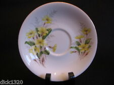 "ROYAL ALBERT YELLOW PRIMROSE (Un-named Richmond Set #21) CHINA 5.5"" SAUCER EX"