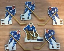 1963 Eagle Toys Table Hockey Players - Toronto Maple Leafs