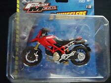 Maisto Ducati Hypermotard Red 1/18 Motorcycle Bike