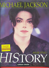 "MICHAEL JACKSON ""MAKING HISTORY"" BIOGRAPHY WITH EXCLUSIVE PHOTOS-RARE BOOK SALE!"