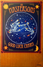 THE MASTERSONS Good Luck Charm 2014 Ltd Ed New RARE Poster+FREE Folk Rock Poster