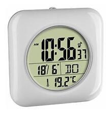Badezimmer Funkuhr Uhr Wanduhr Tischuhr Tisch LCD Digital Temperaturanzeige TOP!
