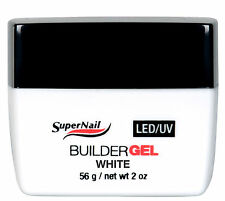 SuperNail LED/UV Builder Gel White - 56g / 2oz - 51681