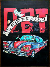 DRIVE-BY TRUCKERS Its Great To Be Alive 2015 Ltd Ed BIG RARE New Poster Display!