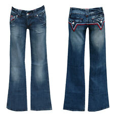 ++MEGA_Sexx-xY_HüfTJeAnS-17 cm Low-Cut++W25-Gr.32++ Denim
