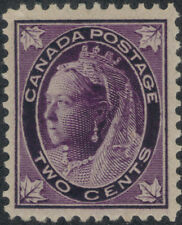 TMM* 1897 Canada Stamp Scott #68 VF mint/light hinge/old gum
