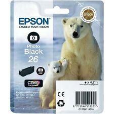 1 Original EPSON T26 26 TINTE PATRONEN XP510 XP520 XP600 XP605 XP610 XP615 XP620