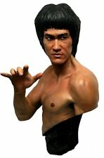 HCG BRUCE LEE MARTIAL ARTS KUNG FU MASTER 1:1 SCALE LIFE-SIZE BUST STATUE FIGURE