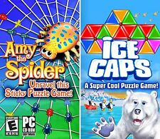 Ice Caps Amy the Spider PC Games Windows 10 8 7 Vista XP Computer puzzle 2 pack
