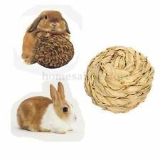 Hamster Mice Cat Rabbit Gerbil Rabbit Exercise Natural Grass Ball Funny Play Toy