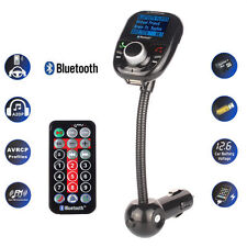 Car MP3 Player LCD FM Transmitter Modulator Wireless Bluetooth USB Charger